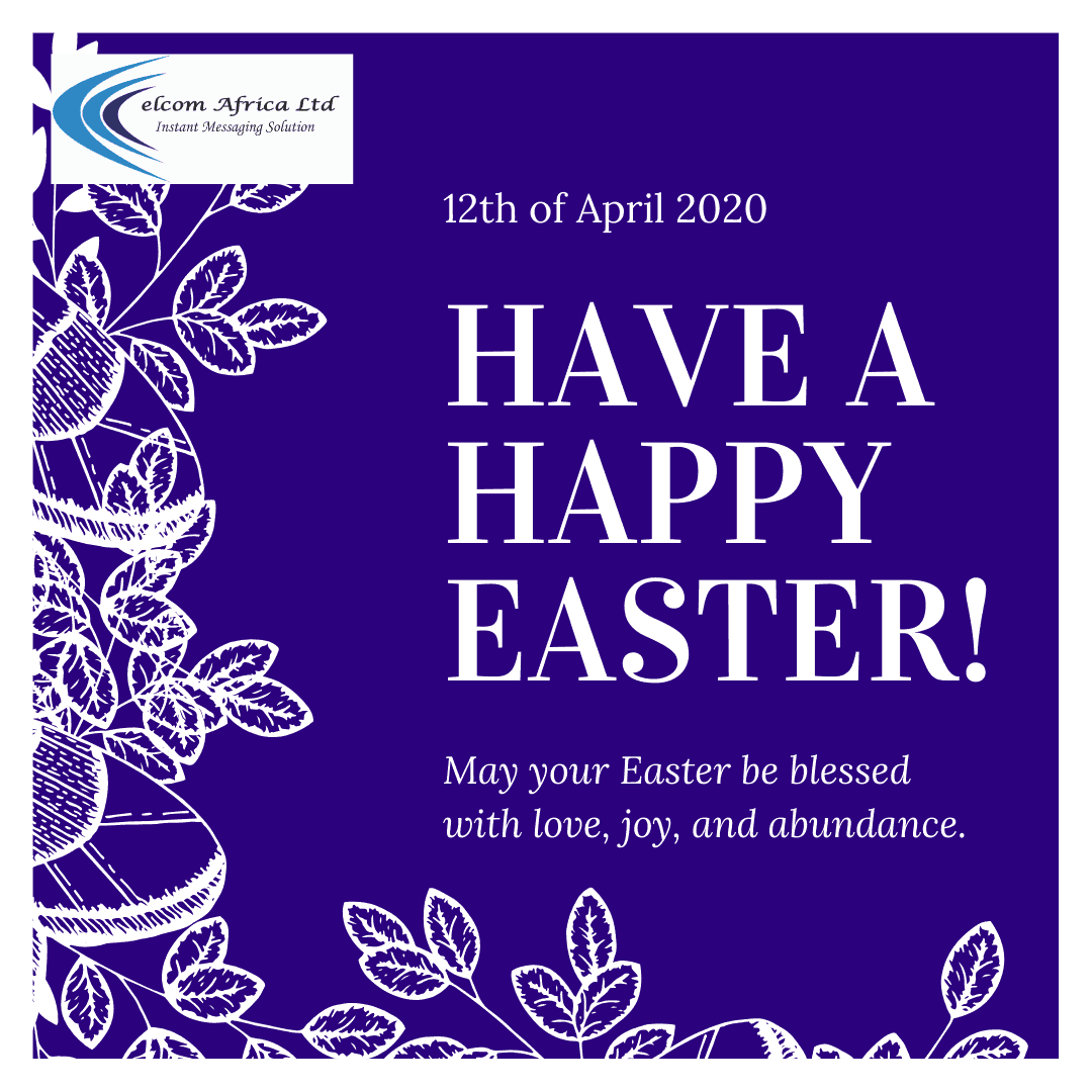 Happy Easter from Celcom Africa Bulk SMS